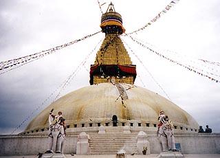 ネパール旅行記(ボダナート)