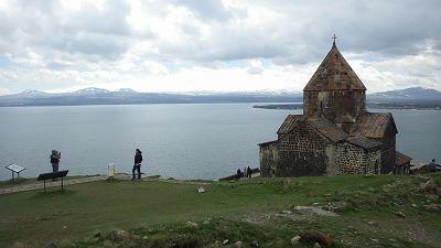 アルメニア旅行記(セヴァン湖)
